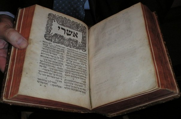 The SOTS President's Bible (held by Barton)