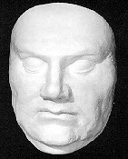 Luther's death mask