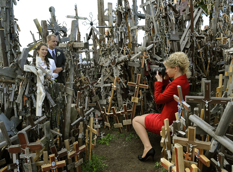 Hill of Crosses Haunted The Hill of Crosses