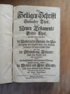 Berleburg Bible - Cyclopedia of Biblical, Theological and ...