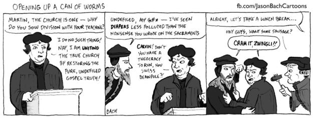 Cartoon of Reformers