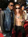 P. Diddy and Shawn White (I think.  I don't really know)
