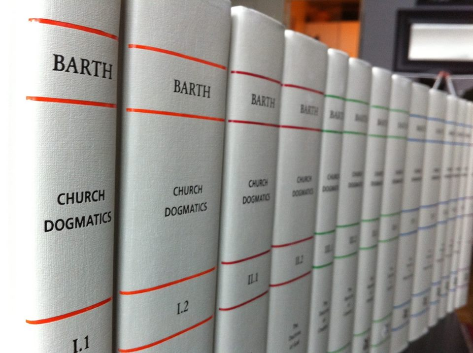 karl barth church dogmatics volume 1 pdf
