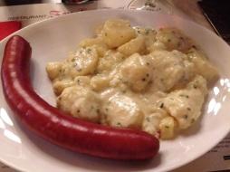 Zwingli didn't eat sausage but I will