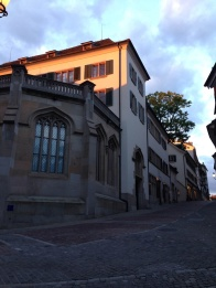 Zwingli's at sunset