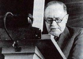 Seinen letzte Marburger Vortrag hielt Rudolf Bultmann 1963: Dieses Bild stammt aus Konrad Hammanns neuer Bultmann-Biographie.