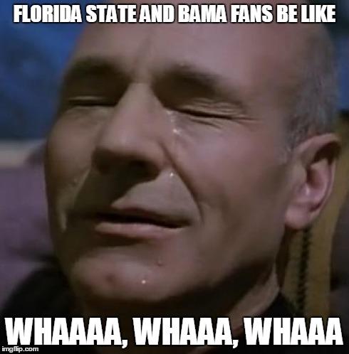 No Means No And Heaven Said No To Bama And Florida State