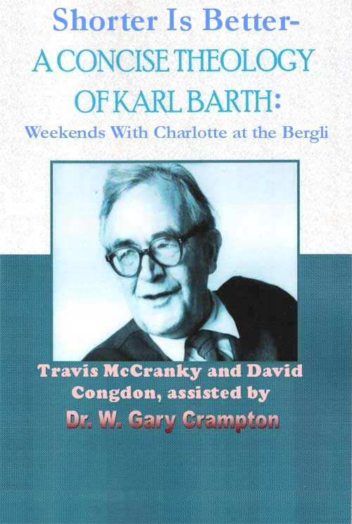 karl barth term paper The image of god in man discover in what exact sense we may use the term if we wish karl barth has shown in his survey of the history of.