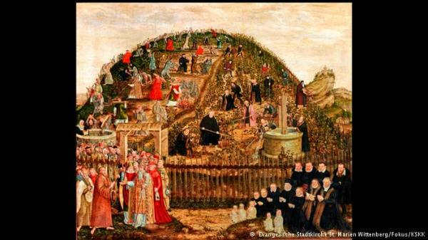 """""""Reformers and Papists in the Vineyard of the Lord"""" (1573-1574)"""