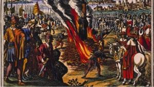 Hus Burning