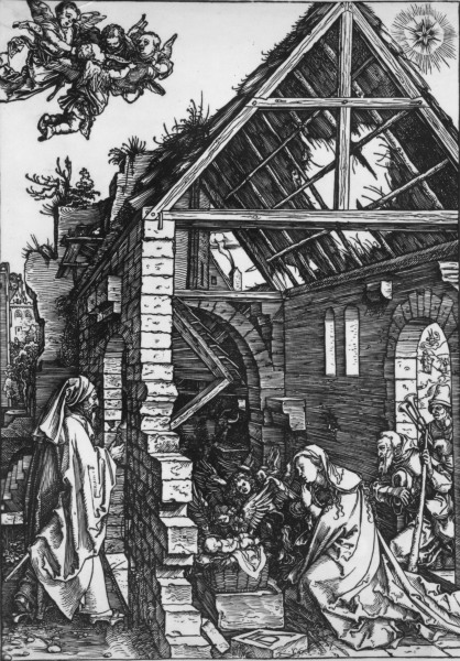 Duerer, Die Geburt Christi - D}rer / The Birth of Christ -