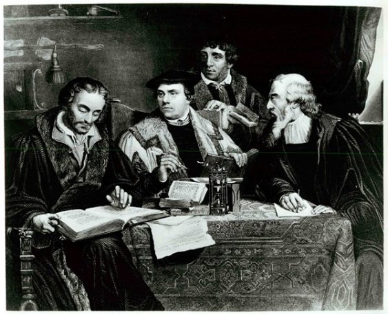 luther_melanchthon