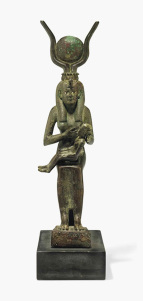 a-large-egyptian-bronze-isis-and-horusthird-intermediate-period-25th-dynasty