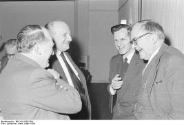 Ev. Gesellschaft Jahrestagung Wuppertal 1956 mit Karl Barth