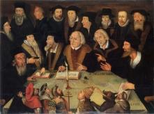 """KUL 23.4. Ausstellung """"Der Luthereffekt"""" in Berlin. Martin Luther im Kreise von Reformatoren, 1625/1650"""