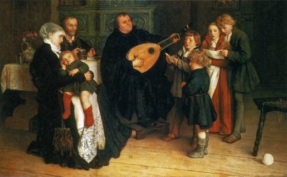 luther-im-kreise-seiner-familie-musizierend