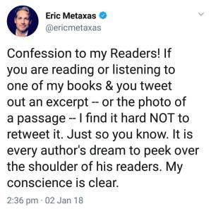 The biblioblog reference library its a win win for narcissists like metaxas who care more about retweets than they do scholarship facts fandeluxe Images