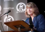 Belinda addresses Democrats & Veterans Partyconference