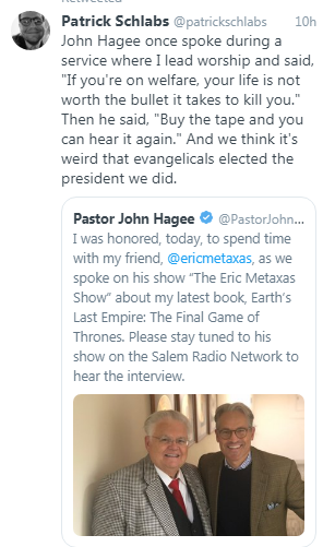 John Hagee Is No Christian, He is A False Teacher and