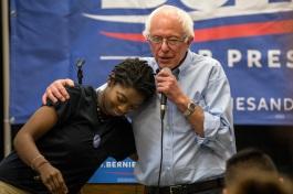 Bernie-Sanders-Hugs-Phil-Roeder-CC-Flickr